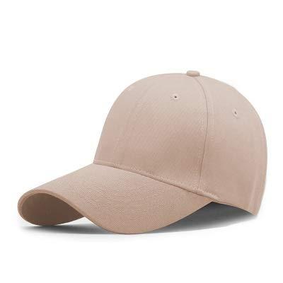 Hclshops Pork Pie Grupo Comprar Gorra de béisbol de algodón Personalizada Gorra Empresa Personalizada Actividades al Aire Libre Viaje Sol Sombrero Impresión Bordado (Color : Khaki)