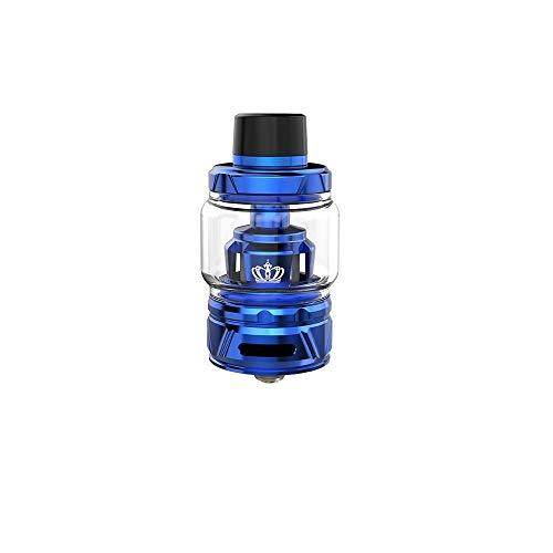 Uwell Crown 4/IV Tank 6ml Innovative Patentierte Selbstreinigungstechnologie, Kein Durchsickern-Vapever Atomizer 2ml- Ohne Nikotin Ohne Tabak, Vapever Atomizer 2ml-Ohne Nikotin Ohne Tabak(Blau)