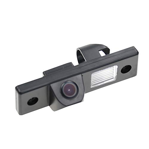HD 720p Backup Cámara de aparcamiento reversa para monitores universales (RCA) (Color: Negro) para Chevrolet EPICA/LOVA/AVEO/CAPTIVA/CRUZE/LACETTI HRV/SPARK