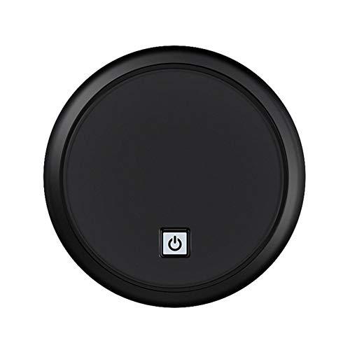 Ys-s Shop-Anpassung Smart Wearing Roboter-Staubsauger Haushalt USB-Aufladung sauberer Roboterabsaugung Staubsauger Bodenwaschanlage (Color : Black Without Brush, Size : A)