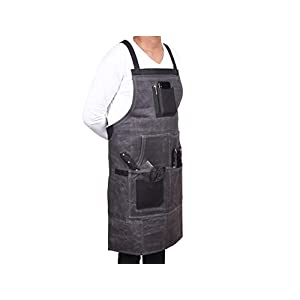 Vero Nord Leather Waxed Canvas Apron 23