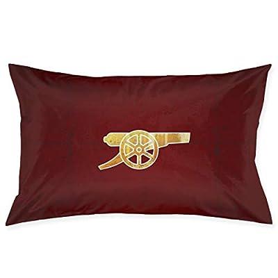 "AERICKON Pillowcase for Hair and Skin with Hidden Zipper Print (20"""" X 30"""") (Arsenal FC The Gunners)"