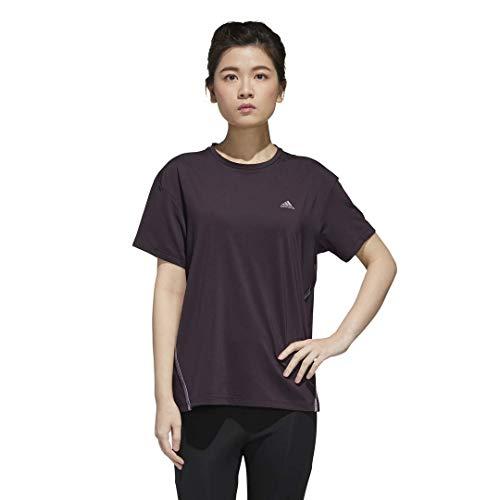 adidas Women's Core Glam On T-Shirt, Noble Purple, M