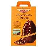 Novi Il Nocciolato di Pasqua Uovo di Cioccolato Gianduia con il 38% di Nocciole Intere Italiane - 370g
