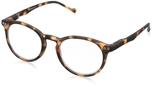 Peepers by PeeperSpecs Style Fifteen Round Reading Glasses, Tortoise, 46 mm, +1.25