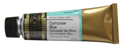 Mijello Mission Gold Water Color, 15ml, Compose Blue