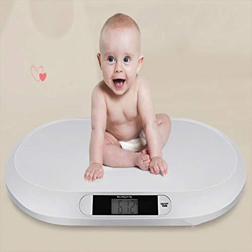 Mr.LQ Bebé doméstico pesaje electrónico 20 kg Salud pesaje bebé Peso báscula electrónica bebé báscula