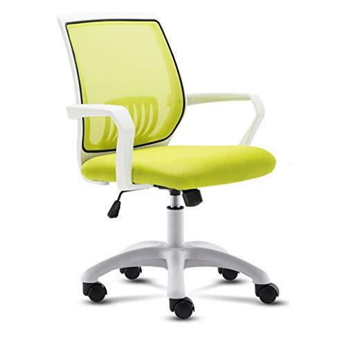 AOYANQI-Sillas de escritorio Multifuncional Silla giratoria, Silla malla de altura ajustable Juego...