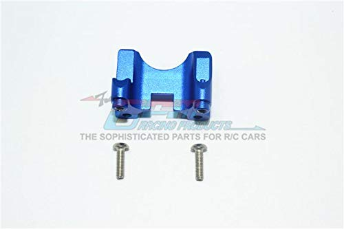 GPM Traxxas E-Revo VXL 2.0 / E-Revo Brushless Tuning Teile Aluminium Rear Damper Mount - 1Pc Set Blue