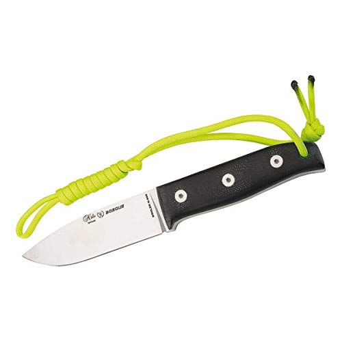 Nieto Gürtelmesser Bosque, G10 Cuchillo de Caza, Unisex Adulto, Plata, 20,5 cm