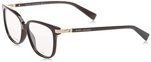 Marc Jacobs Plastic Rectangular Eyeglasses 54 02M2 Black Gold