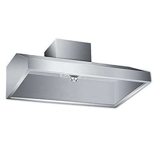 PEIHAN 31,5-Zoll-Dunstabzugshaube für die Wandmontage, Edelstahl-Küchenhaube mit LED-Leuchten, Küchenabzugshaube, Kamin-Dunstabzugshaube
