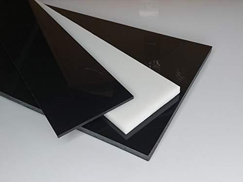 Plaque POM-C Acetal 500 x 500 x 10 mm noir Coupe Delrin POM alt-intech®