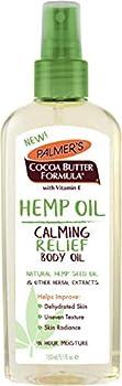 Palmer's Cocoa Butter Formula Hemp Oil Calming Relief Body Oil
