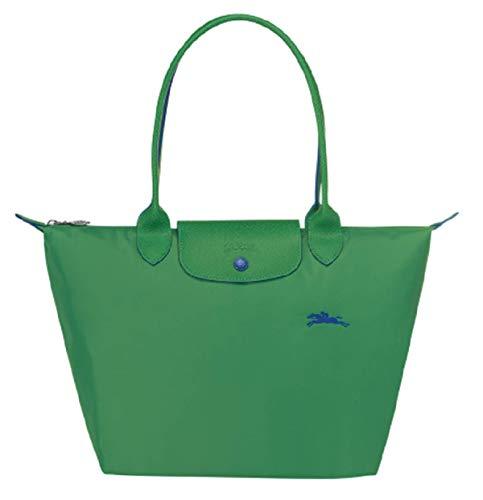 Longchamp Le Pliage Club Große Schultertasche (grün)