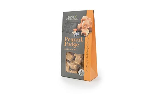 House of Caramel Peanut Fudge mit Fleur de Sel, 120 g