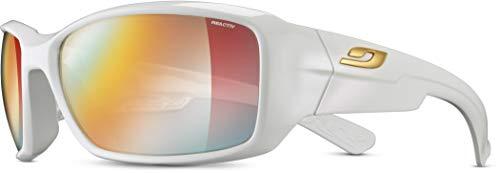 Julbo J4003310 Sonnenbrille für Erwachsene, Unisex, Brillantweiß, M