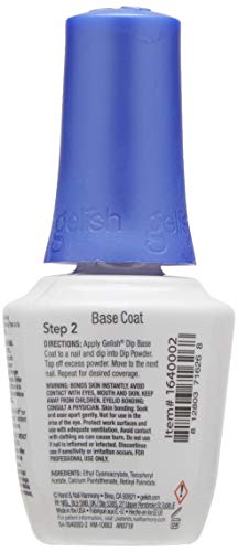 Harmony Gelish, Esmalte de gel de uñas (Base Coat) - 15 ml.