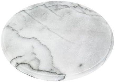 Preisvergleich für Horwood Drehteller aus weißem Marmor 30 cm