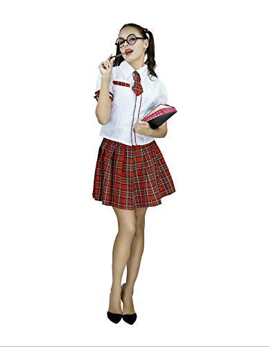 PARTY FIESTA Disfraz De Estudiante para Mujer (S)