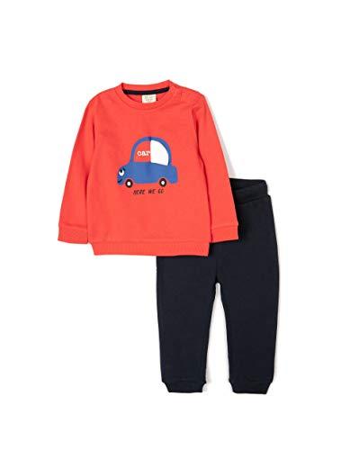 ZIPPY Baby-Jungen ZTB0603_470_2 Polo-Pullover, Poinsettia 17-1654, 18/24M