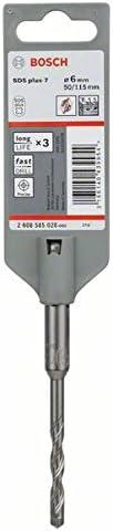 Bosch 2608585029 Foret SDS-Plus-7 pour perforateur 6 x 100 x 165 mm