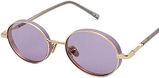 cjcaijun - Gafas Vintage Oval Gafas de sol UV Protección Gafas de sol Gafas de sol