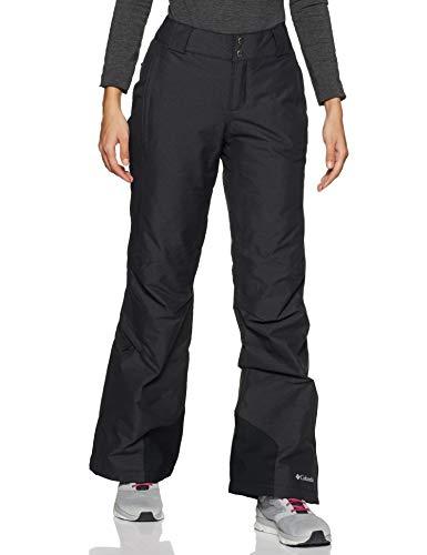 Columbia Women's Bugaboo Omni-Heat Insulated Snow Pant, Black, Black ,X-Large Regular, standard
