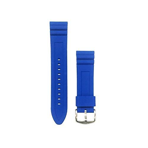 Correa de repuesto Reloj Fossil Silicona color Azul 22 cm GWPFW1046