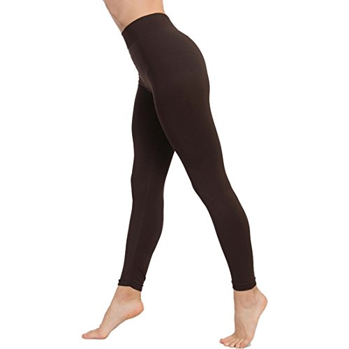 Leggings Push Up COSMÉTICO-Textil Couleur Marron