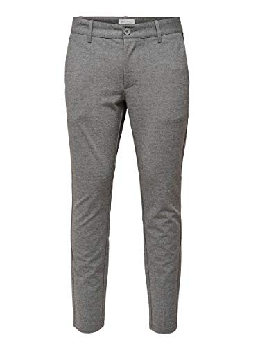 ONLY & SONS Male Hose Mark 3434Medium Grey Melange