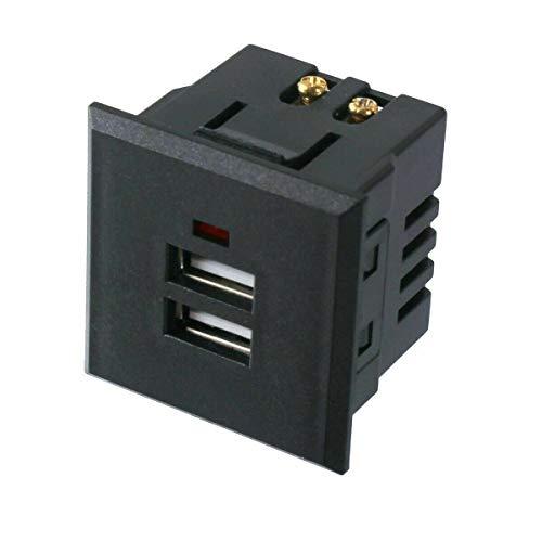 Universale USB Einbausteckdose Board Steckdose Tischsteckdose 230V Ladegerät Einbau 220V