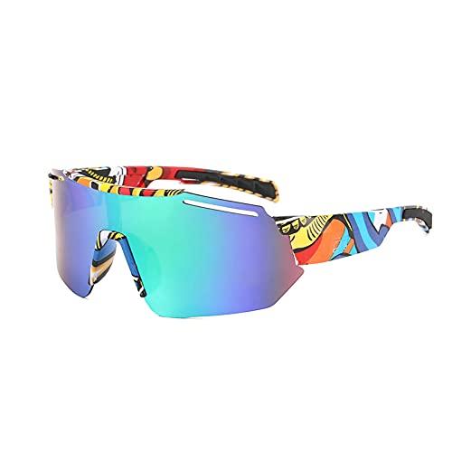 N\C Gafas Sol Polarizadas Ciclismo Hombre Mujer Gafas De Sol Hombre Mujer Polarizadas Ciclismo Deportivas Redondas
