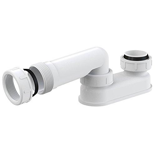 """Geruchsverschluss für Ab Überlaufgarnitur Gewinde 6/4\"""" Badewanne Siphon Sifon Syfon Extra Flach Flachsiphon"""