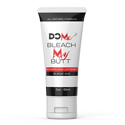 Premium Intimate Skin Whitening Cream - Bleach My Butt - All Natural Skin Bleaching Cream for Genital Lightening, Underarm Whitening Cream for Women, Private Parts, Fade Dark Spots - 3% Kojic Acid