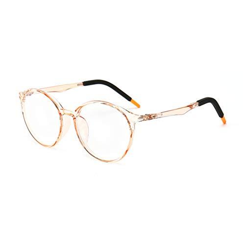 Tofox Kinder Brille Ohne Stärke Blaulichtfilter entspiegelten Brille Reduzieren Auge Belastung Kinder Silikon Gläser