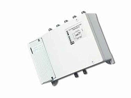 Fracarro mod.MBX5540-Amplificatori minicentralini multibanda. Ingressi n: 4, Bande di ingresso: III+DAB / IV / V / UHF, Guadagno dB: 33, Livello di uscita dBuV: 125, Taratura 35-36