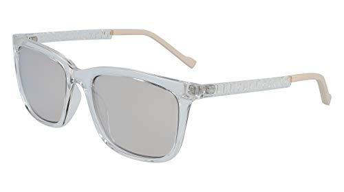 DKNY DK510S Gafas de sol, Crystal Clear, 55 MM, 18 MM, 135 MM para Mujer