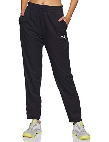 PUMA Active Woven Pants, Pantaloni Donna, Nero Black, M
