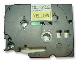 Brother Original P-touch Schriftband TZe-631 12 mm, schwarz auf gelb (kompatibel u.a. mit Brother P-touch PT-H100LB/R, -H105, -E100/VP, -D200/BW/VP, -D210/VP) extra-stark klebend, laminiert