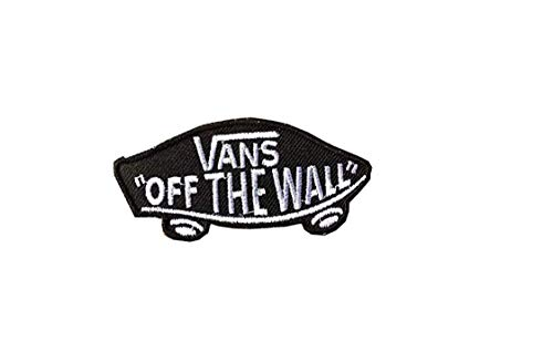Parche Bordado Termoadhesivo Vans off the Wall 8,5 cm