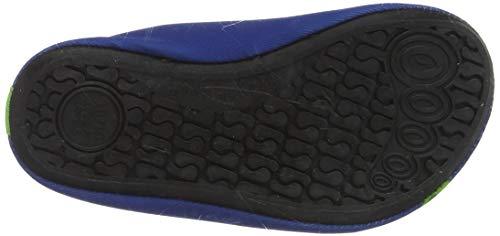 Playshoes Unisex-Kinder Badeslipper, Krokodil, Blau - 4