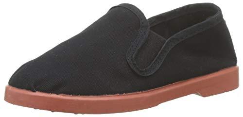 Victoria Gong Fu Lona, Zapatillas Unisex niños, Negro (Negro 10), 24 EU