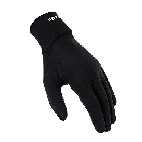 ISSYZONE Gants Sport Hiver sous Gants - Tactile Thermal Gants en Microfibre pour Randonnée, Exercise, Fitness, Ski, Pêche