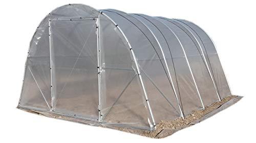 mi-invernadero Gewächshaus, Tunnel, für Obstgarten oder Garten. Profi Qualität. Modell i4 16 m² (4 m x 4 m). WIR SIND Hersteller.