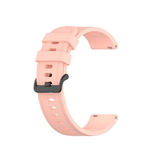 unknows Uhrenarmband für Hua-wei Watch GT2/Samsung-GalaxyWatch3/AmazfitGTR Silikonarmband