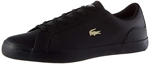 Lacoste Damen Lerond 0120 2 CFA Sneaker, Schwarz Blk Blk, 41 EU