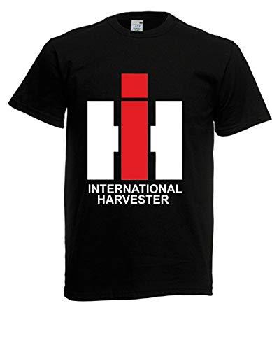T-Shirt - IHC International Harvester (Schwarz, L)