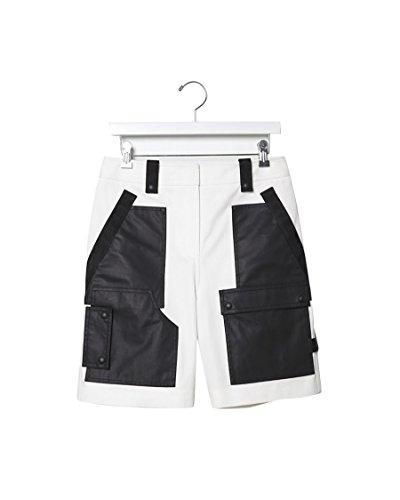 Alexander Wang Webbed Cargo Shorts (6) Ivory