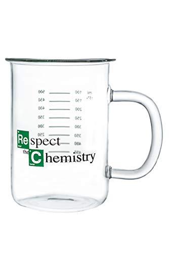 "Breaking Bad Mug – Beaker Coffee Mug – ""Respect the Chemistry""..."